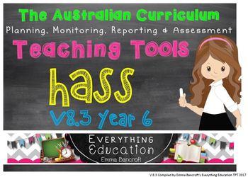 Year 6 HASS v8.3 Australian Curriculum Package