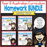 Year 6 Homework Flip Books For an Entire Year! - Australia