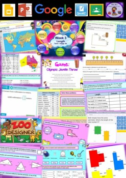 Year 6 Length Smart Notebook and Unit of Work Bundle 1