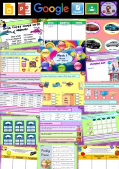 Year 6 Mass Smart Notebook and Unit of Work Bundle 1