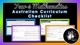 Year 6 Mathematics   Australian Curriculum Checklist