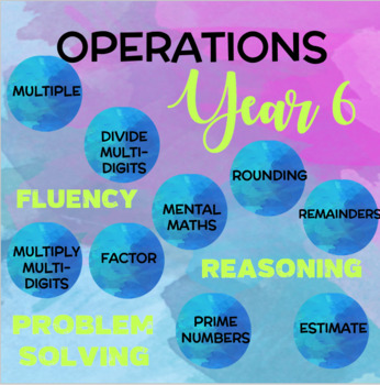 Year 6 Maths: Operations