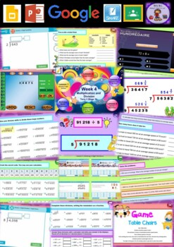 Year 6 Multiplication and Division Smart Notebook and Unit of Work Bundle 4