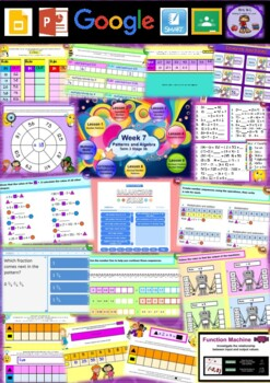 Year 6 Patterns and Algebra Smart Notebook and Unit of Work Bundle 2