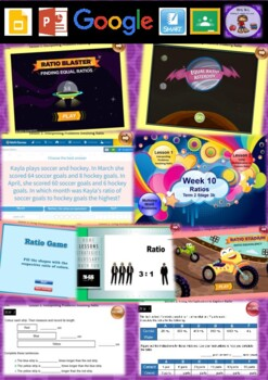 Year 6 Ratios Smart Notebook and Unit of Work Bundle 1