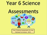Year 6 Science Assessments and Tracking