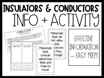 Conductors and Insulators (ACSSU049 & ACSSU097)