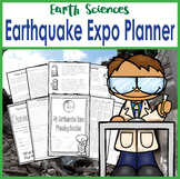 Earth Sciences Natural Disasters - Earthquake Expo Project Booklet