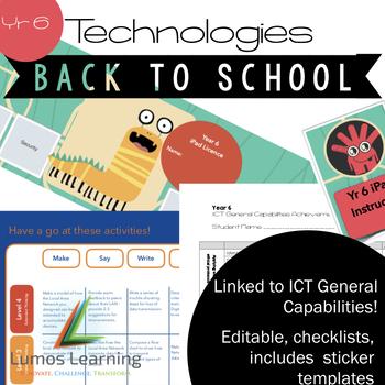Year 6 Technologies Curriculum Linked GROWING BUNDLE!