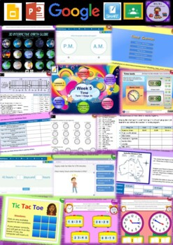 Year 6 Time Smart Notebook and Unit of Work Bundle 1