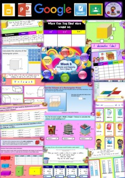 Year 6 Volume and Capacity Smart Notebook and Unit of Work Bundle 1