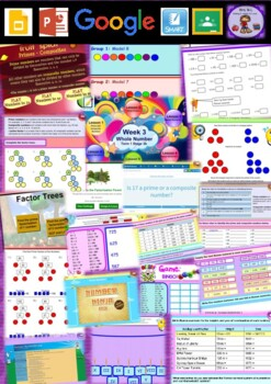 Year 6 Whole Number Smart Notebook and Unit of Work Bundle 2