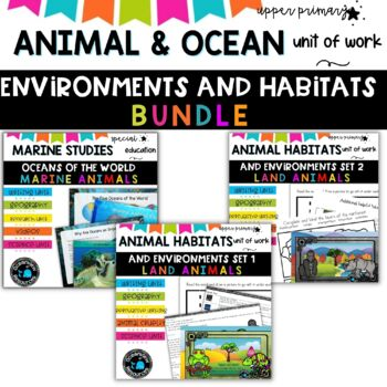 Year 6 -Sea and Animal Themed Cross Curricular Units