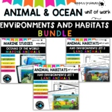 Ocean-sea and Animal units for Grade 6 (bundle)