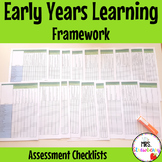 Early Years Learning Framework Assessment Checklists - EYLF