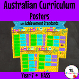 Year 7 Australian Curriculum Posters – HASS {with Achievement Standards}