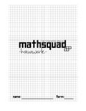 Year 7 Mathsquad Weekly Homework Booklets (Foundation)