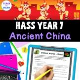 Year 7 History, Ancient China, Australian Curriculum, HASS