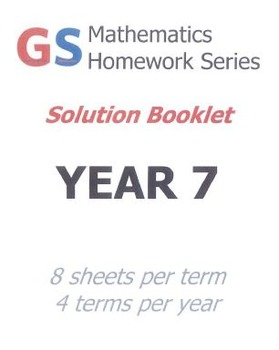 Year 7 Homework sheets - SOLUTIONS