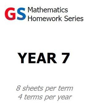 Year 7 Homework sheets - Term 3