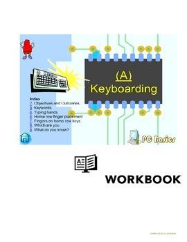 Grade 7 Year 7 ICT Computer Basics Keyboarding a  ICT Workbook