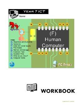Grade 7 Year 7 ICT Computer Human Computer f ICT Workbook