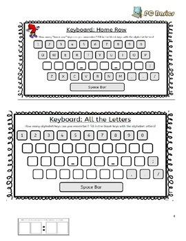 FREE-Grade 7 Year 7 ICT, Computer Basics, Keyboarding A. ICT Workbook,