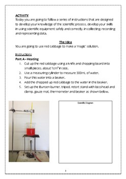 Year 7 (NSW) Introduction to Science Lab, Safety and Lab Equipment.