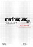 Year 7 Mathsquad Weekly Homework Sheets and Solutions