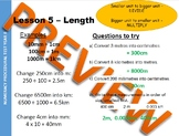 Year 8 (7th grade) Numeracy starters - 981 slides with worked examples and qs