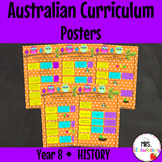 Year 8 HISTORY Australian Curriculum Posters