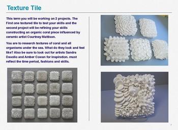 Year 8 Ceramics/Painting Semester unit of work
