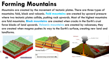 Year 8 Geography - Landscapes & Landforms - Mountains
