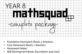 Year 8 Mathsquad Complete Package