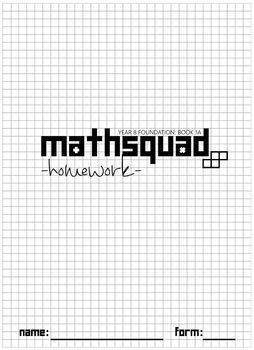 Year 8 Mathsquad Weekly Homework Sheets and Solutions (Foundation & Core Combo)