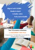 Year 9 Economics & Business Assessment Tasks (Full Semester)