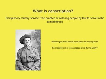 Year 9 History WW1