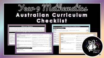 Year 9 Mathematics | Australian Curriculum Checklist