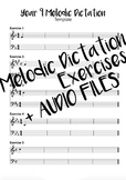 Year 9 Melodic Dictation Exercises + Audio Files