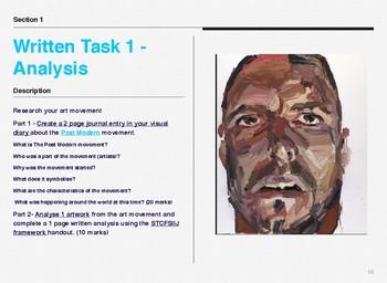 Year 9 Visual Arts Bundle
