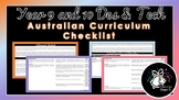 Year 9 and 10 Design and Technologies | Australian Curriculum Checklist
