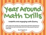 Year Around Math Fluency Drills