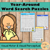 Year-Around Word Search Puzzles