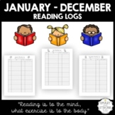 School + Home Reading Log - Full Year Collection