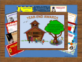 Year End Achievement Awards Certificates Distance Learning