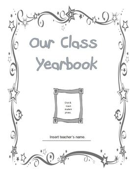 year end classroom yearbook by learn with leigh tpt. Black Bedroom Furniture Sets. Home Design Ideas