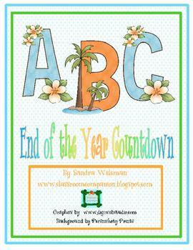 Year End Countdown Activities Freebie