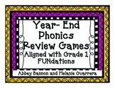 Year-End Phonics Review Games