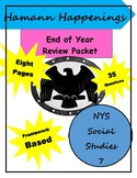 Year End Review: NYS Social Studies 7