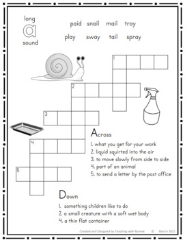 Year End Review of Different Spellings for Long Vowels in Crosswords
